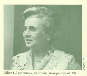 Lillian L. Lamoureux. HSC
