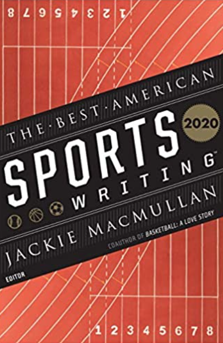 book cover best american sports writing 2020