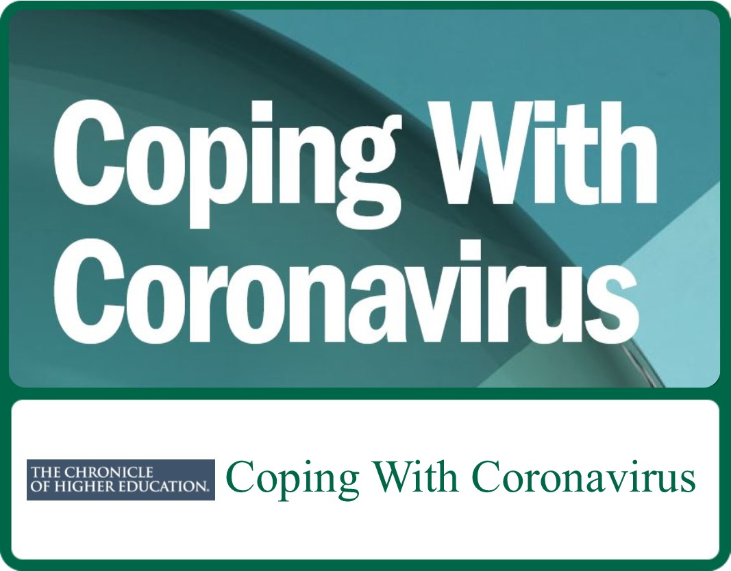 Cover of document: Coping With Coronavirus