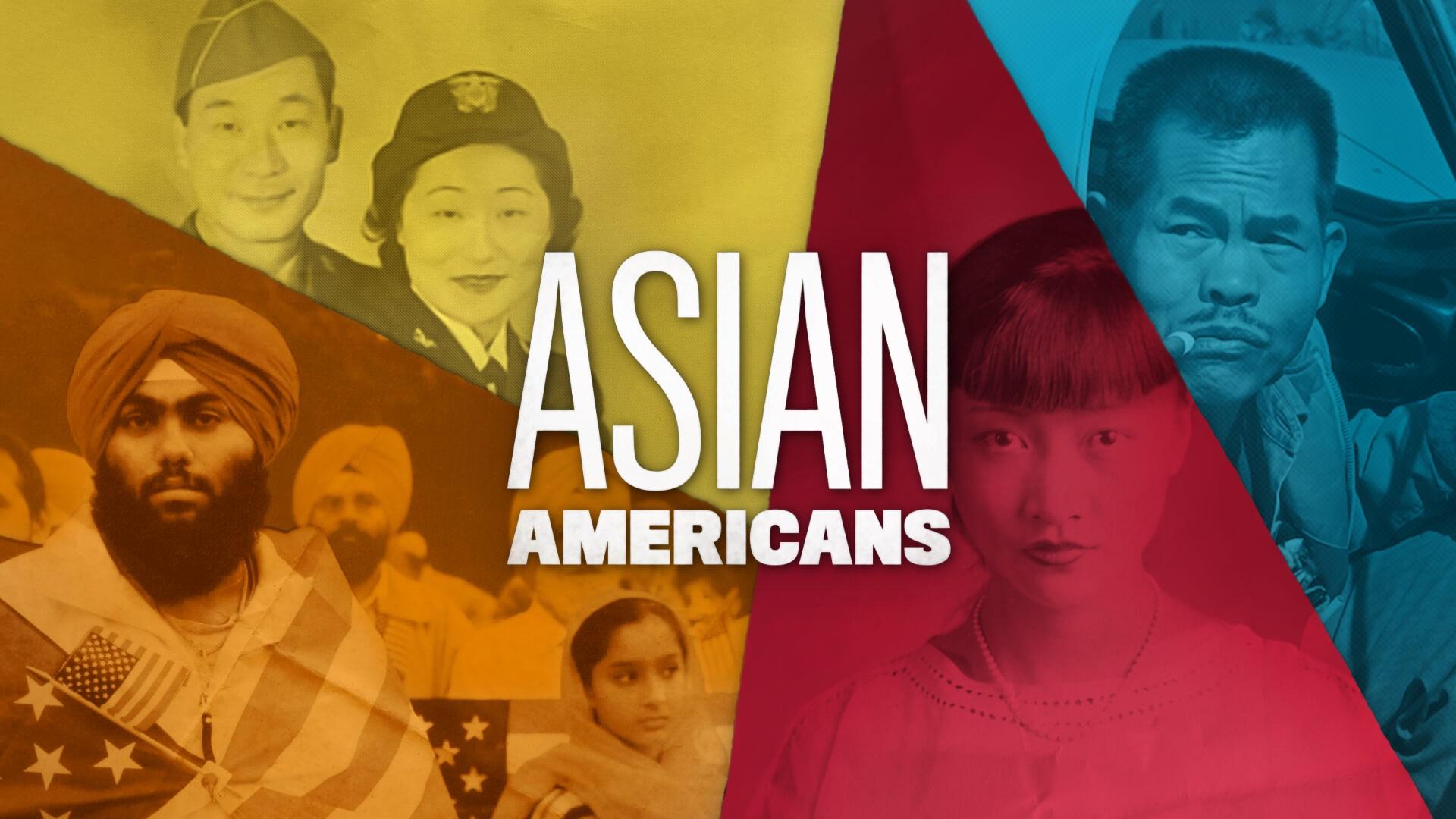 """Asian Americans"" PBS documentary logo"