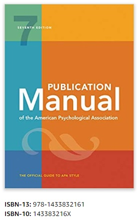 APA Style Guide, 7th edition