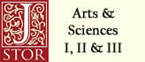 JSTOR Arts & Sciences I, II & III