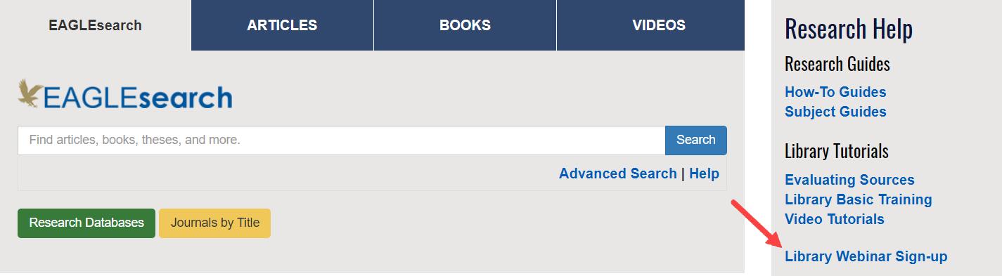 Library Webinar Sign-up Link