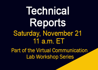 Workshop: Technical Reports