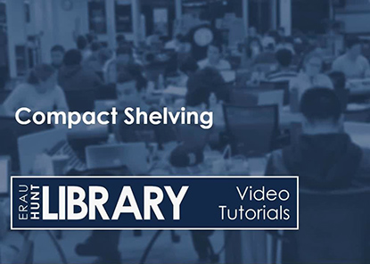 Video Tutorial: Compact Shelving