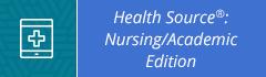Health Source:Nursing/Academic Edition