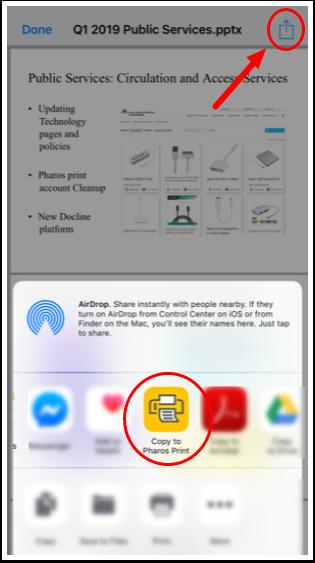 Pharos App screenshot -2
