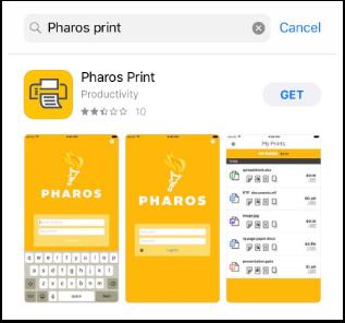 Pharos App screenshot -1