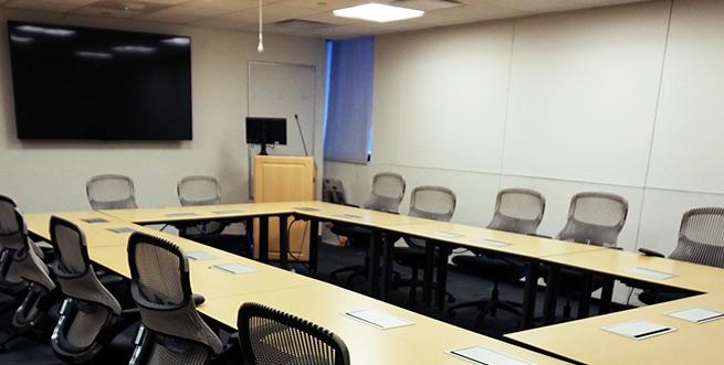 Library 10th floor classroom