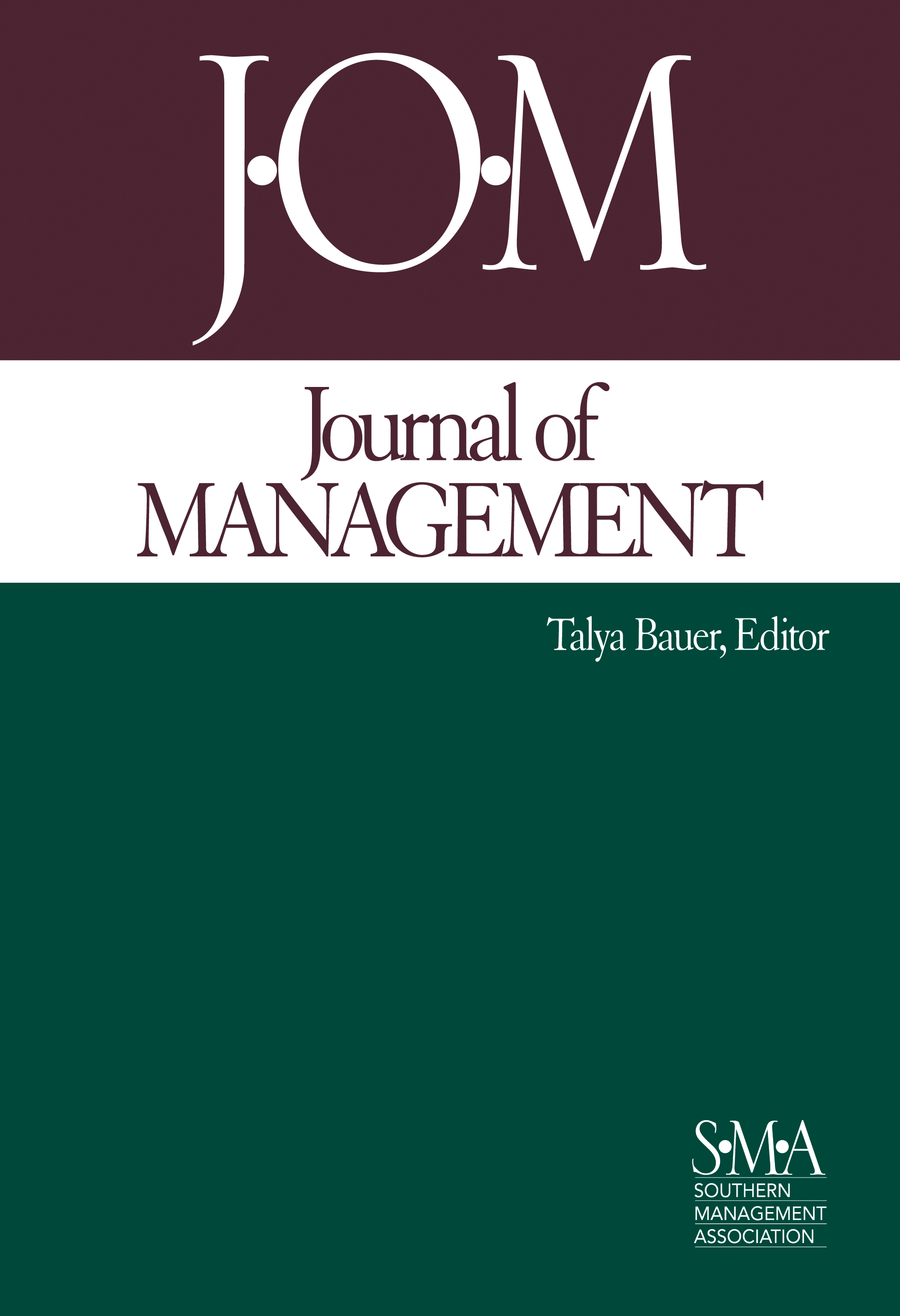 Journal of Management cover