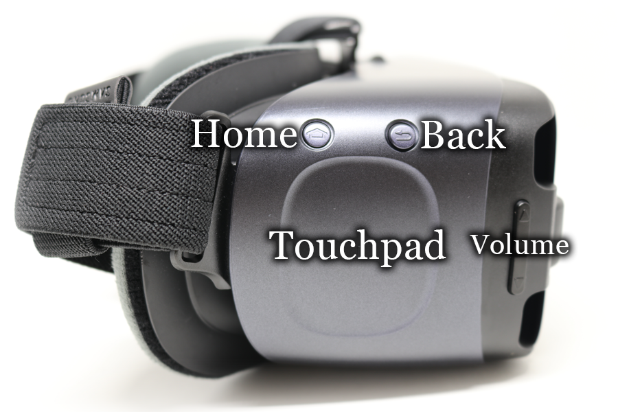 Samsung Gear VR Labeled