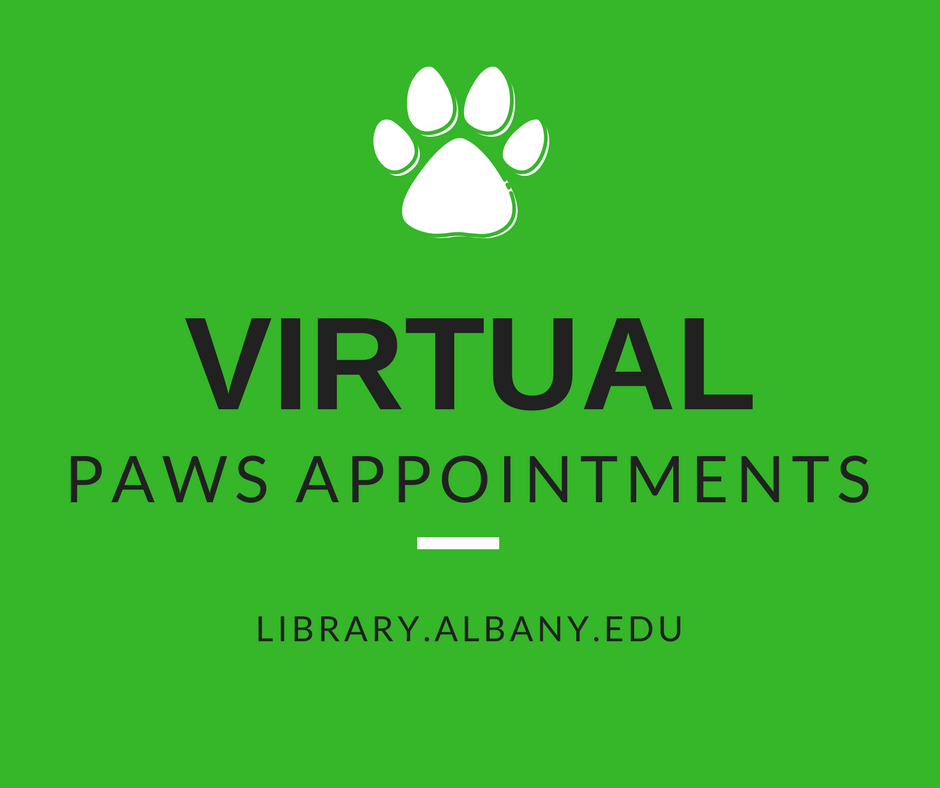 Virtual PAWS Appointments