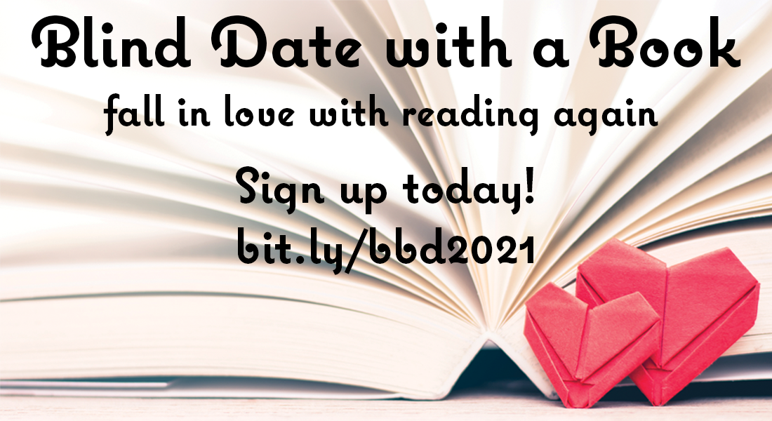 sign up for blind date with a book and let us pick your next favorite read