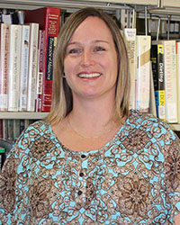 photo of Jamie Holmes, Librarian