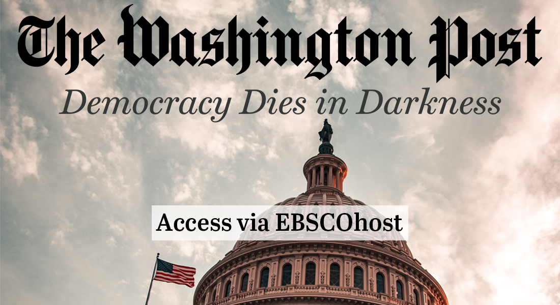 the washington post. access via ebscohost