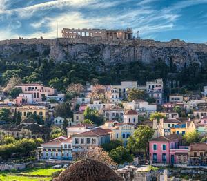 Athens, Greece city view