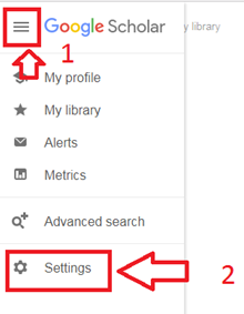 Google Scholar FAQ image