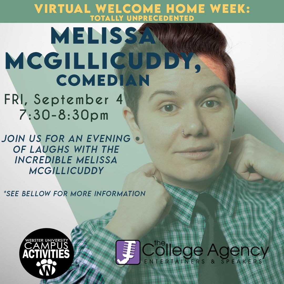 Melissa McGillicuddy Virtual event September 4, 2020