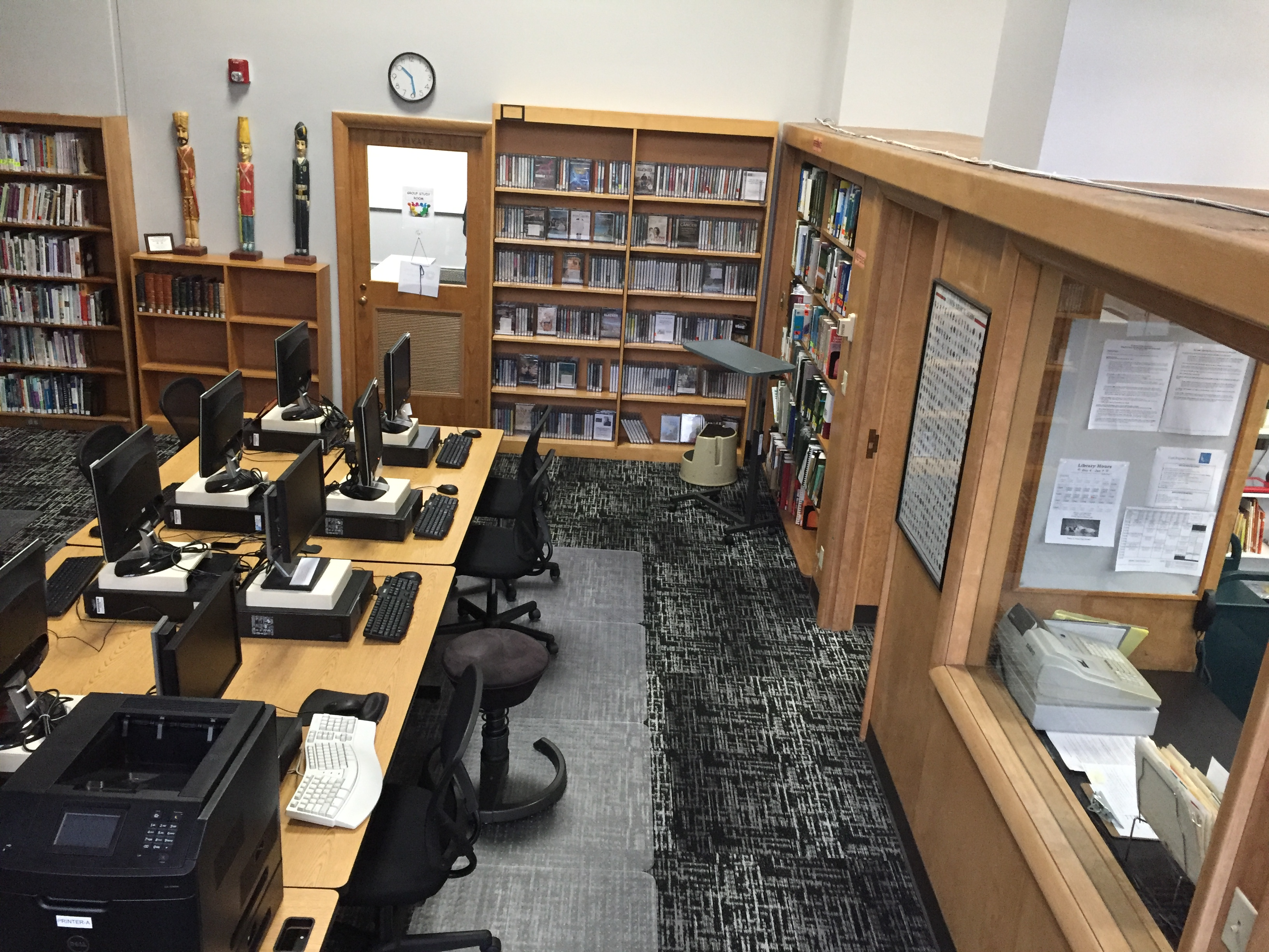 Library Computer Room