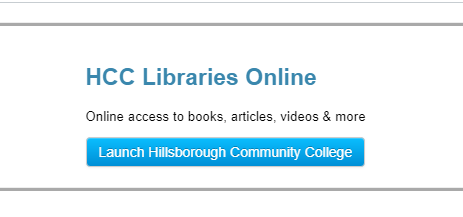 HCC Libraries Online Button