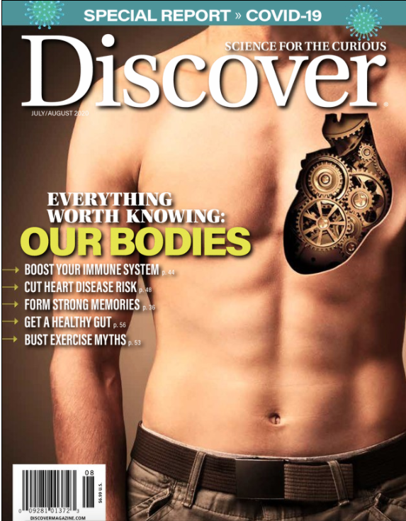 discover magazine- health topics