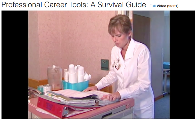 healthcare professional career tools