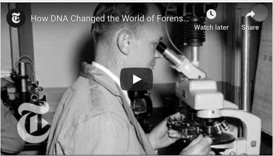 How DNA Changed Forensics Video
