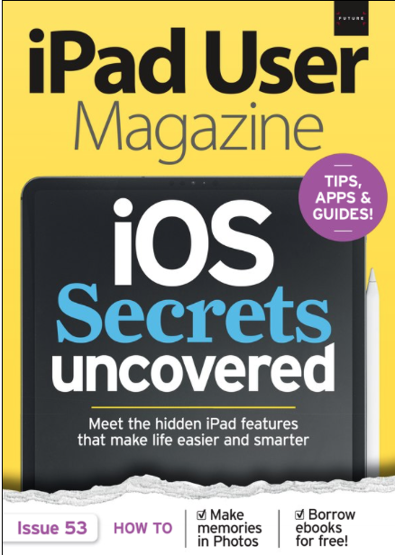 ipad user magazine tips