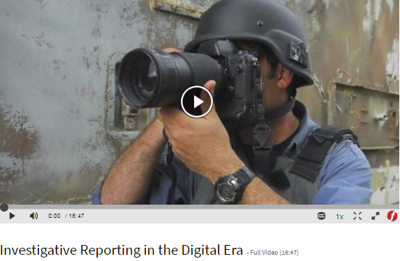 Investigative Reporting video