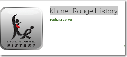 khmer rouge history app for android