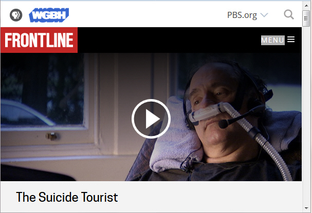 Image for Suicide Tourist video link