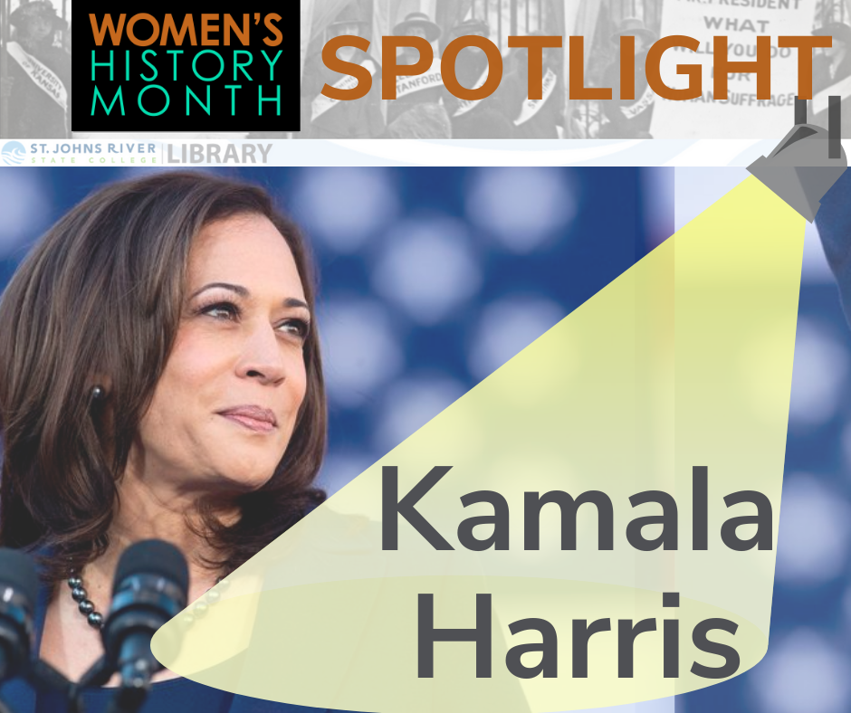 Women's History Month Spotlight - Kamala Harris