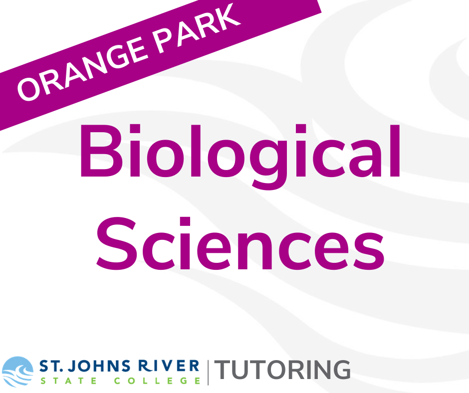 Biological Sciences Tutoring