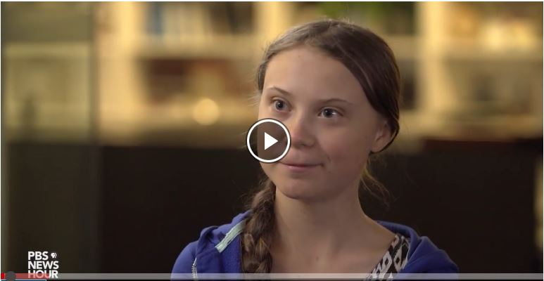 Virtual Film Screening - Climate Activist Greta Thunberg on the Power of A Movement
