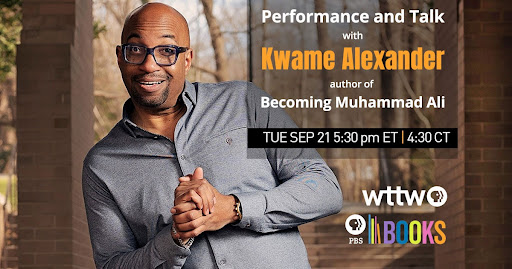 Performance and Talk with Kwame Alexander