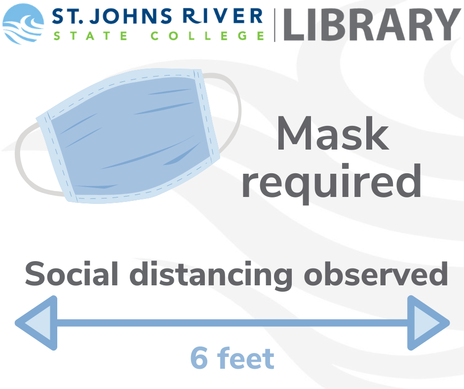 mask required - social distancing observed