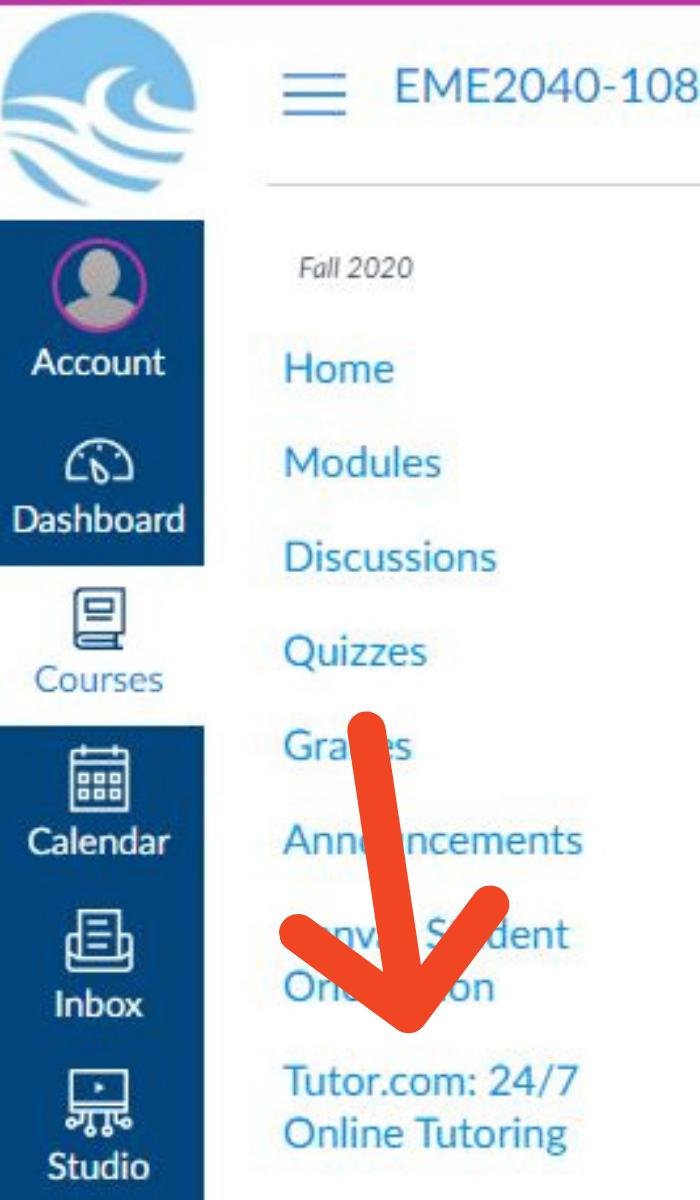 tutor.comlink in Canvas
