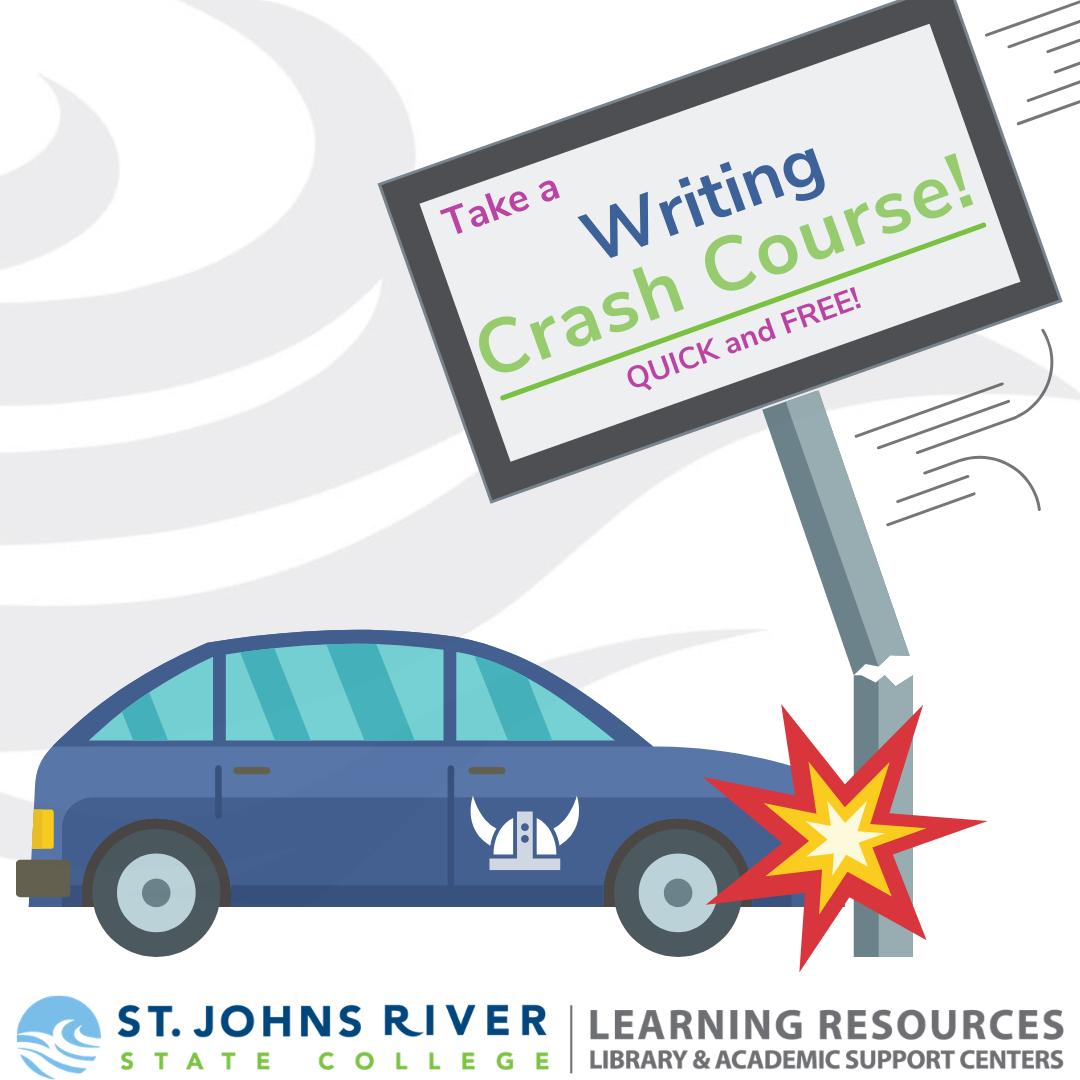 Take a writing crash course! Quick & free!