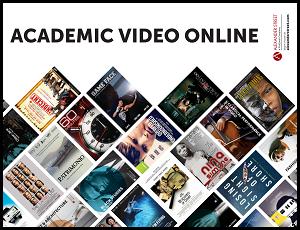 Academic Video Online - Alexander Street