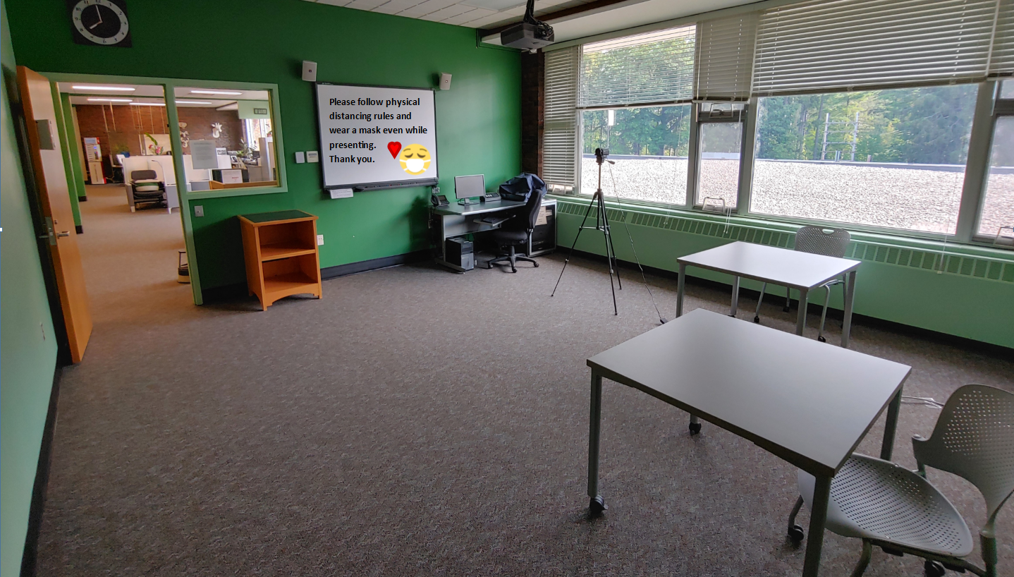 Conference room recording studio setup 08-24-2020