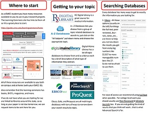 Database searching tips