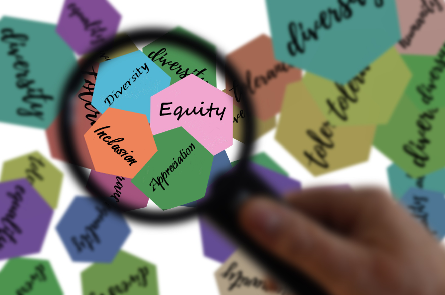 Diversity, Equity, Inclusion, Appreciation - modified from Analysis by geralt on Pixabay