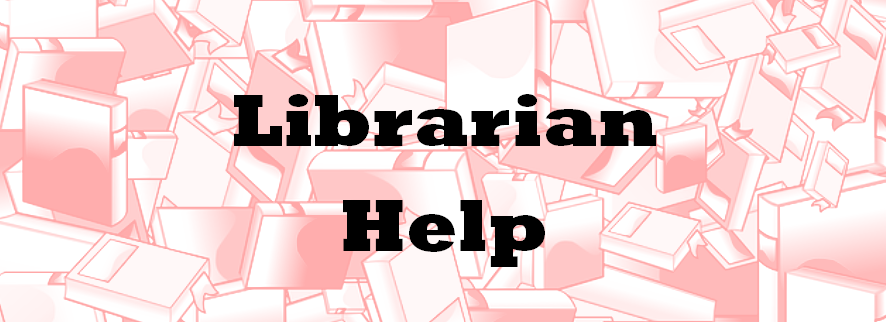 Librarian Help - Book Image by OpenClipart-Vectors on Pixabay
