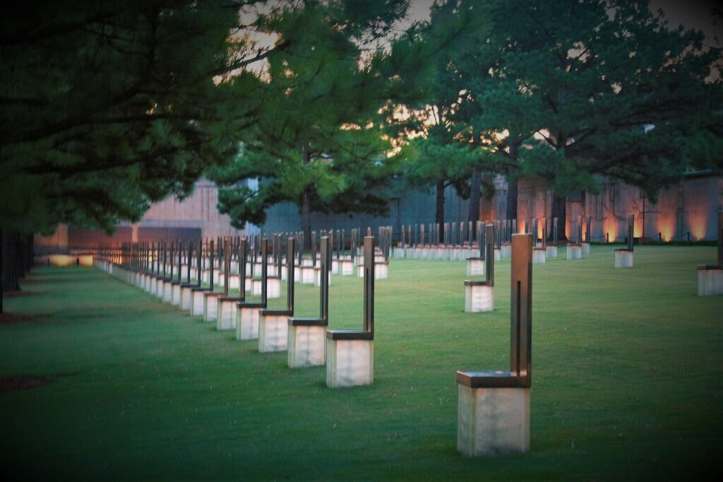 Field of Empty Chairs Oklahoma City National Memorial and Museum