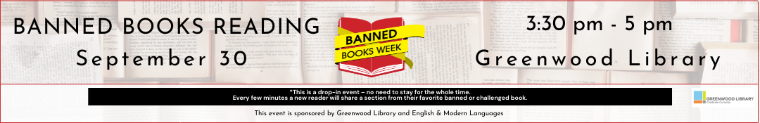 Banned Books Week event