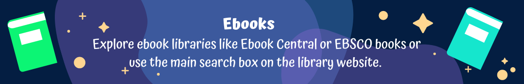 Ebooks at Greenwood Library