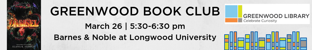 Greenwood Book Club, 3/26/19, Damsel
