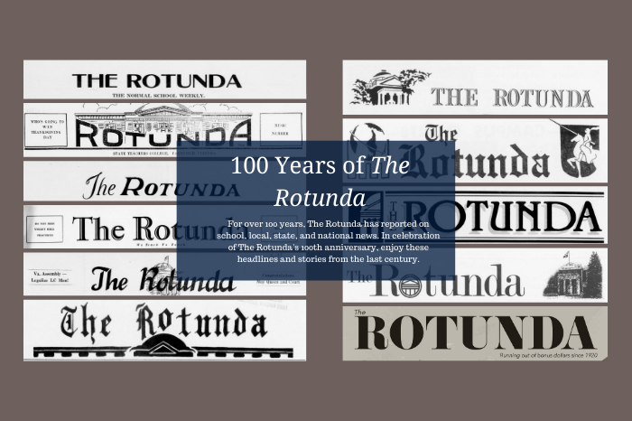 Variety of historic Rotunda Headers