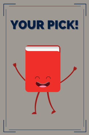 Pick Your Own dancing book