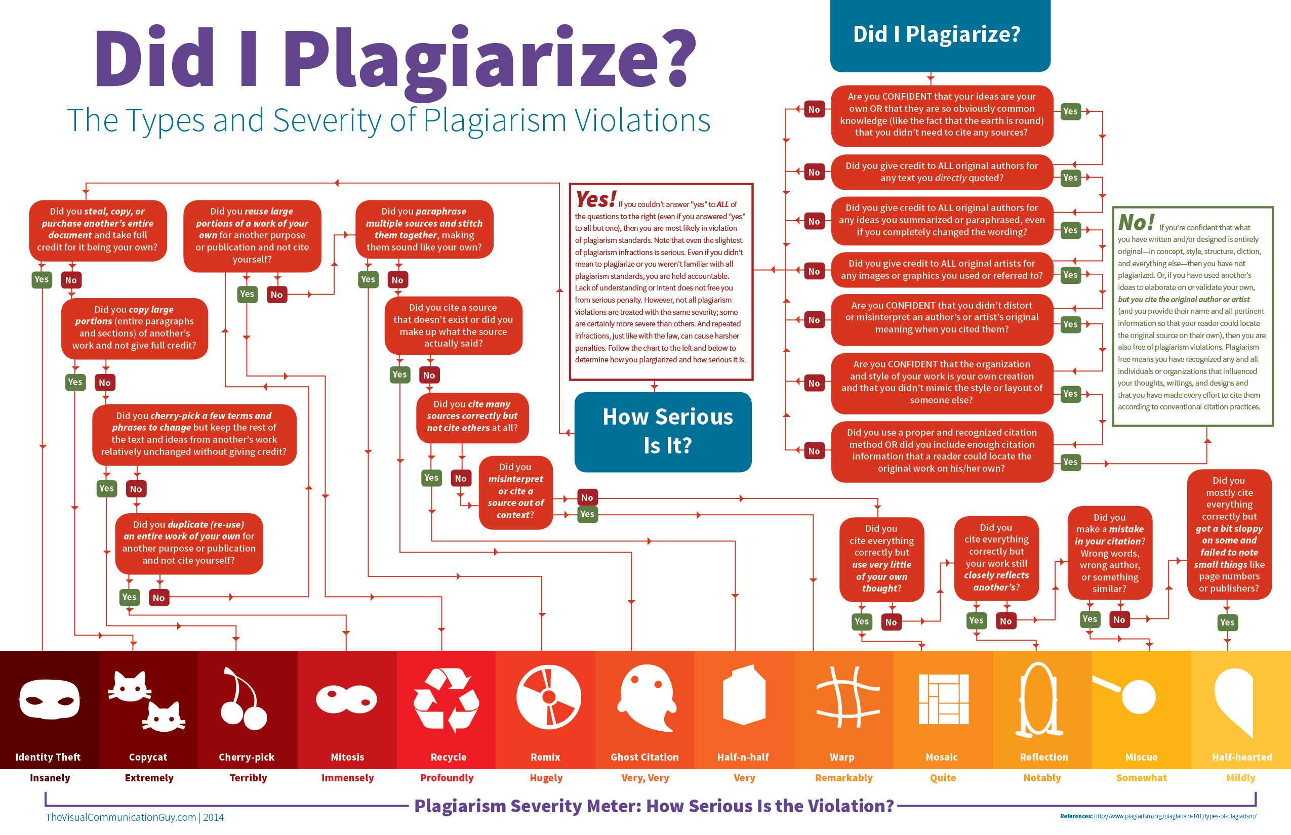 Did I Plagiarize infographic